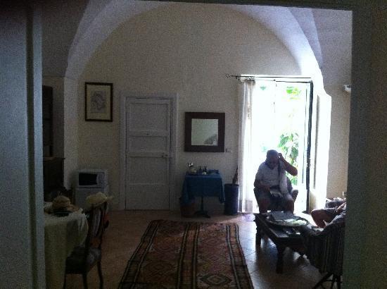 B&B Palazzo Bernardini: soggiorno