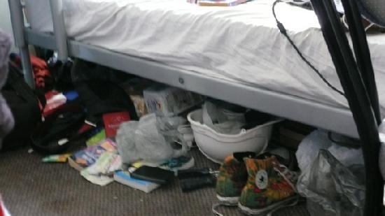Asylum Sydney: Shove your stuff under the bed