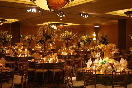 Crowne Plaza Palo Alto: Wedding set up
