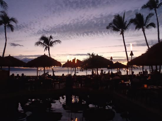 Tropica Restaurant & Bar: sunset at tropica