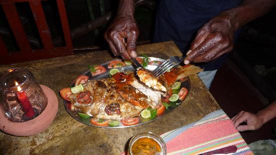 Tembo Village Resort Watamu: Dinner im Resort