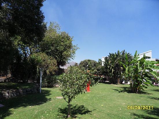 Atahotel Naxos Beach: Jardin à l'arrière de la villa