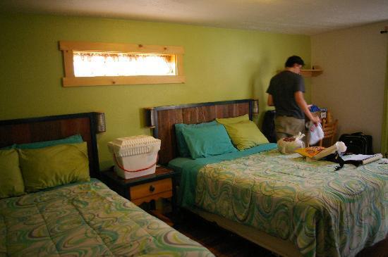 """Kokopelli Lodgings: Notre chambre, aux jolies couleurs pleines de """"peps"""" !"""