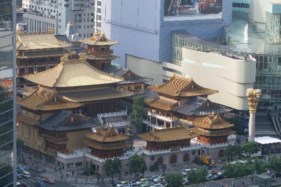 โรงแรมฮิลตันเซี่ยงไฮ้: View from my room