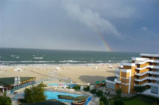Mamaia, Romania: view from room