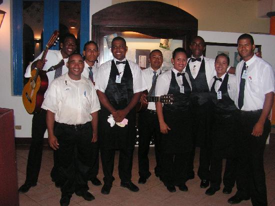 โรงแรมวิค อารีนา บลังกา: Gang des restos à la carte