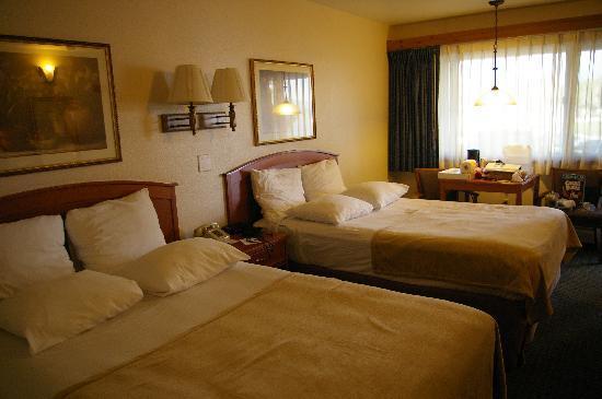 Best Western Ptarmigan Lodge: Notre chambre au RdC, le top !