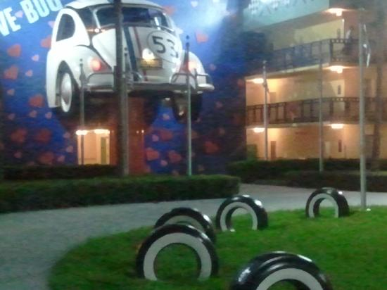Disney's All-Star Movies Resort: We stayed here at the Herbie the Love Bug Building