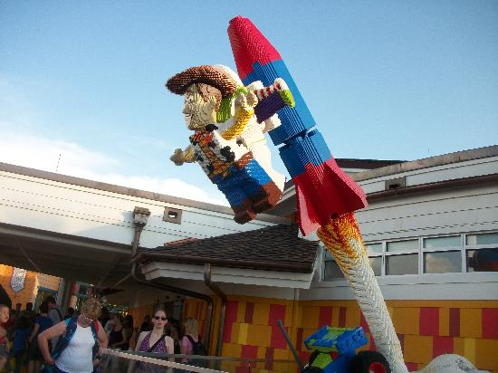 Disney's All-Star Movies Resort: All Made from Legos in Dwntwn Disney