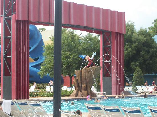 Disney's All-Star Movies Resort: Fantasia Pool