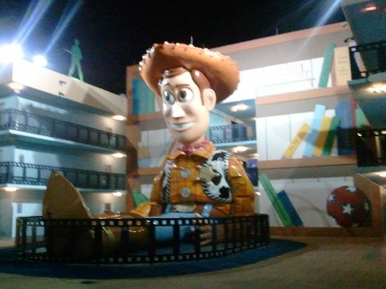 Disney's All-Star Movies Resort: Woody! At the Toy Story Building