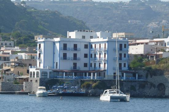 Hotel Rocce Azzurre from the sea