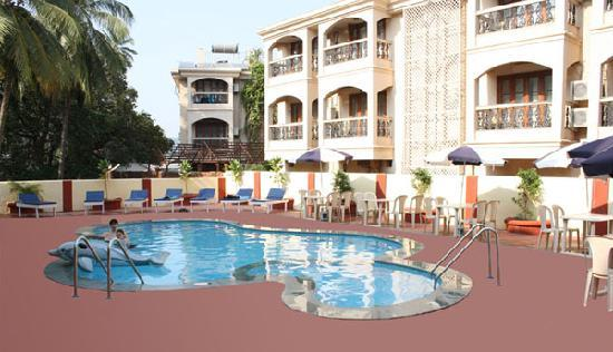 Krish Holiday Inn Baga: Swimming Pool