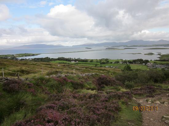 Moher House Bed and Breakfast: Clew Bay from Croagh Patrick, Westport