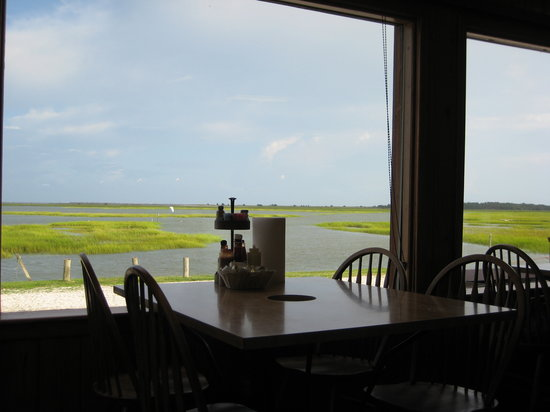 Nance's Creekfront Restaurant: Our view