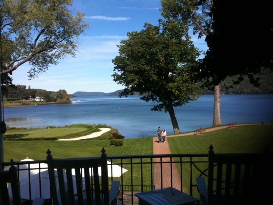The Otesaga Resort Hotel: view from veranda