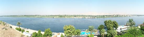 Iberotel Luxor: view from 5th floor balcony