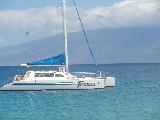Teralani Sailing: Teralani 3 - the boat we sailed on!