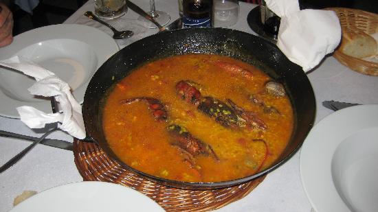 Complejo Al-Andalus: Exquisito arroz con bogavante