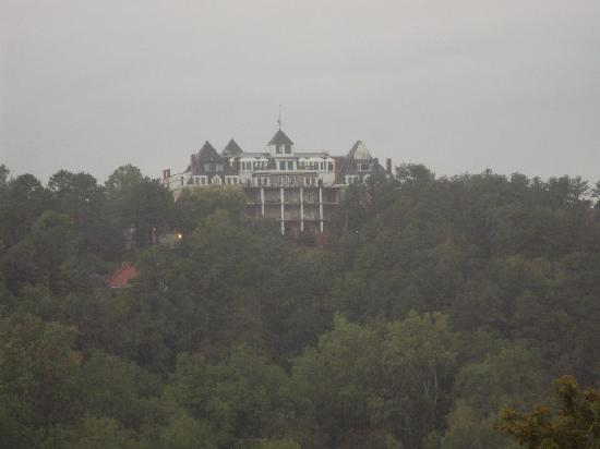 1886 Crescent Hotel & Spa : View from the overlook across the valley on East Mountain Rd