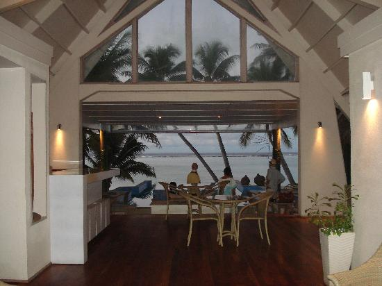 Little Polynesian Resort: Our first view at the Little Poli