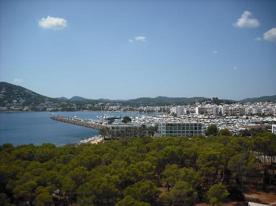 Sol Beach House Ibiza: View of Marina & resort from balcony