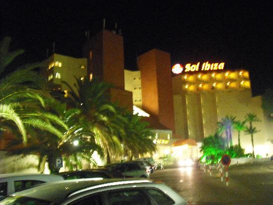 Sol Beach House Ibiza: Hotel Entrance
