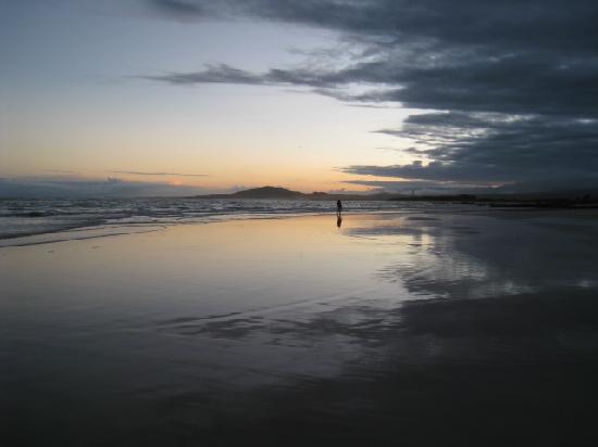 La Casita de la Playa: one of the many amazing sunsets