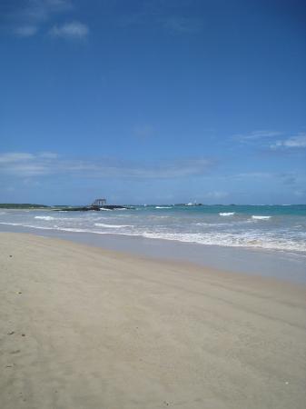 just outside La Casita de la Playa