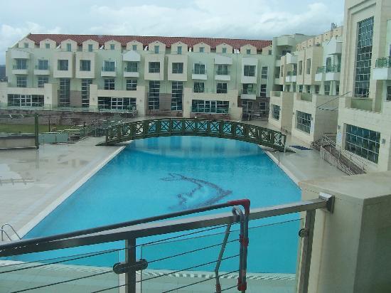 Adrina Termal Health Spa Hotel: oda manzarası