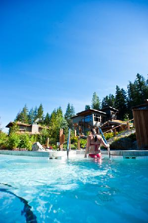 Scandinave Spa Whistler: Transition