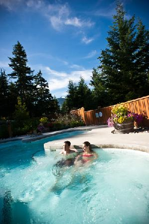 Scandinave Spa Whistler: US time