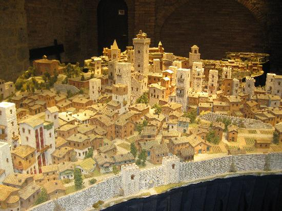 San Gimignano, Italia: The model town