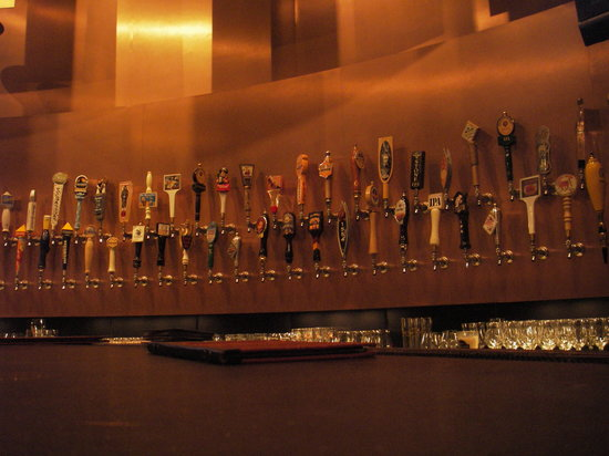 Tap House Grill: Just some of the taps