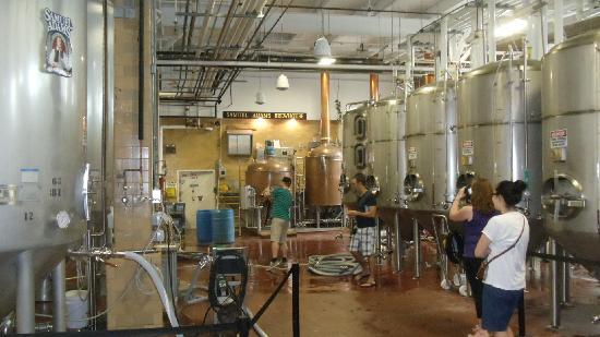 Samuel Adams Brewery: Tour