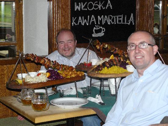 Pod Wawelem: Massive Skewwers