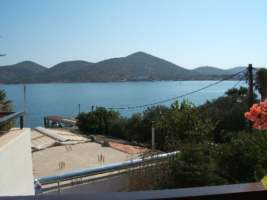 Akti Olous Hotel: View from our hotel balcony