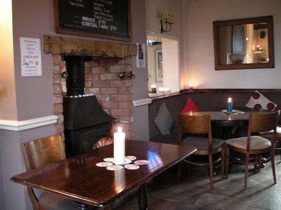 Hinstock, UK: Cosy corner