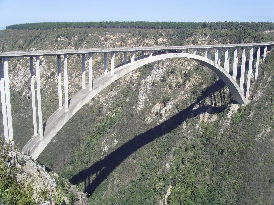 Garden Route (Tsitsikamma, Knysna, Wilderness) National Park: The Worlds Highest Bungee Jump