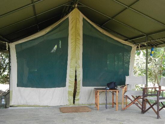 Governor's Camp: our tent