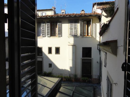 Martelli Hotel: Vista desde la habitación