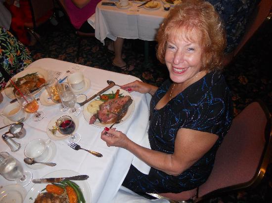Seminole Gulf Railway Murder Mystery Dinner Train: Awesome cuisine