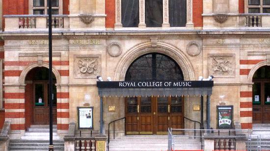 Royal College of Music - behind Royal Albert Hall