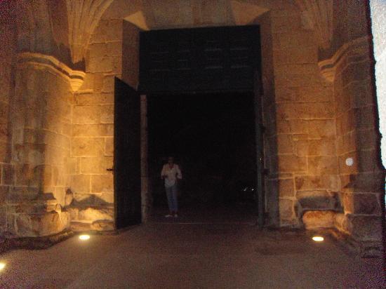 Parador de Santo Estevo: entrada parador