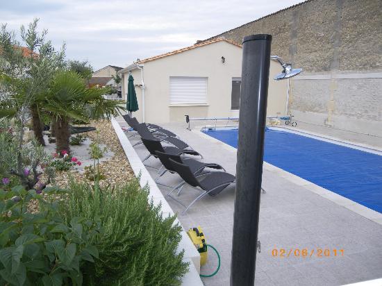 Hotel l'Oliveraie : piscine