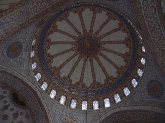 มัสยิดสุลต่านอาห์เมต: Cúpula Mezquita Azul