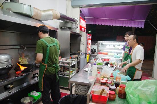 Fu-beng Restaurant: Kitchen