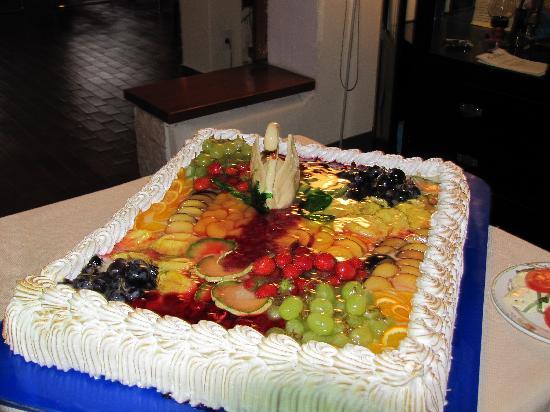 Club Hotel Olivi: Kuchen v. Nachspeisenbuffet