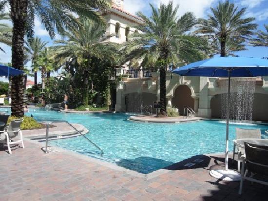 Hammock Beach Resort: main pool area
