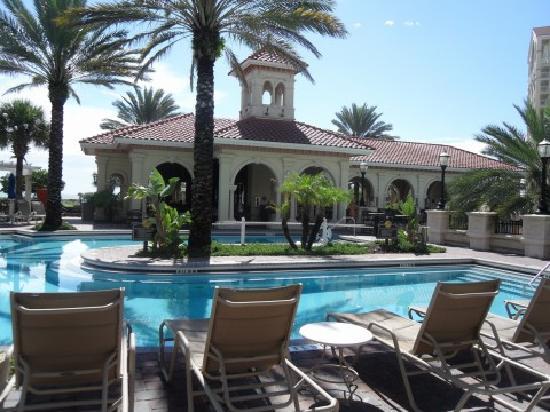 Hammock Beach Resort: the adult pool, I think?